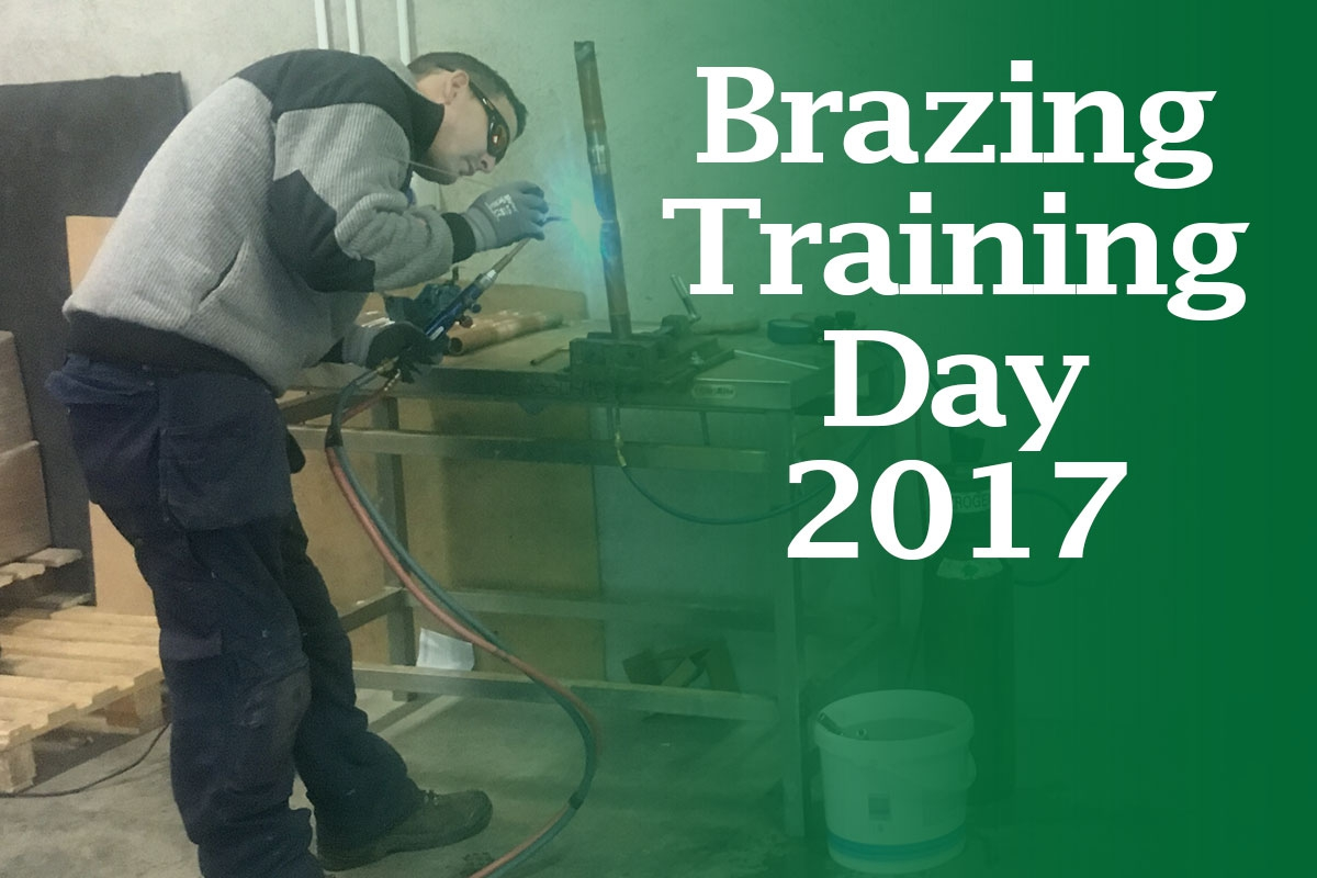 Coolrite Engineers Complete Ongoing Brazing Training