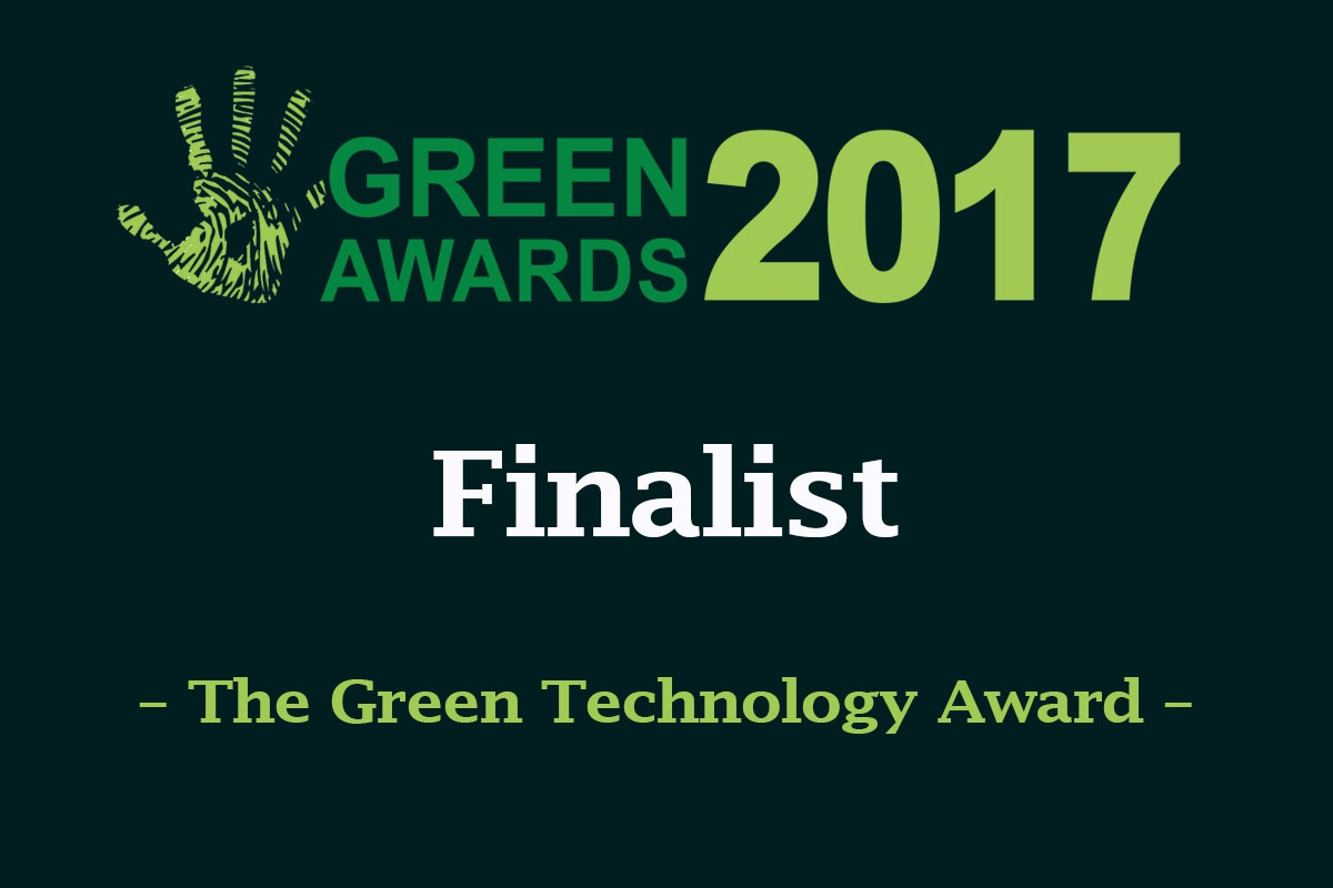 Coolrite Shortlisted in 2017 Green Awards