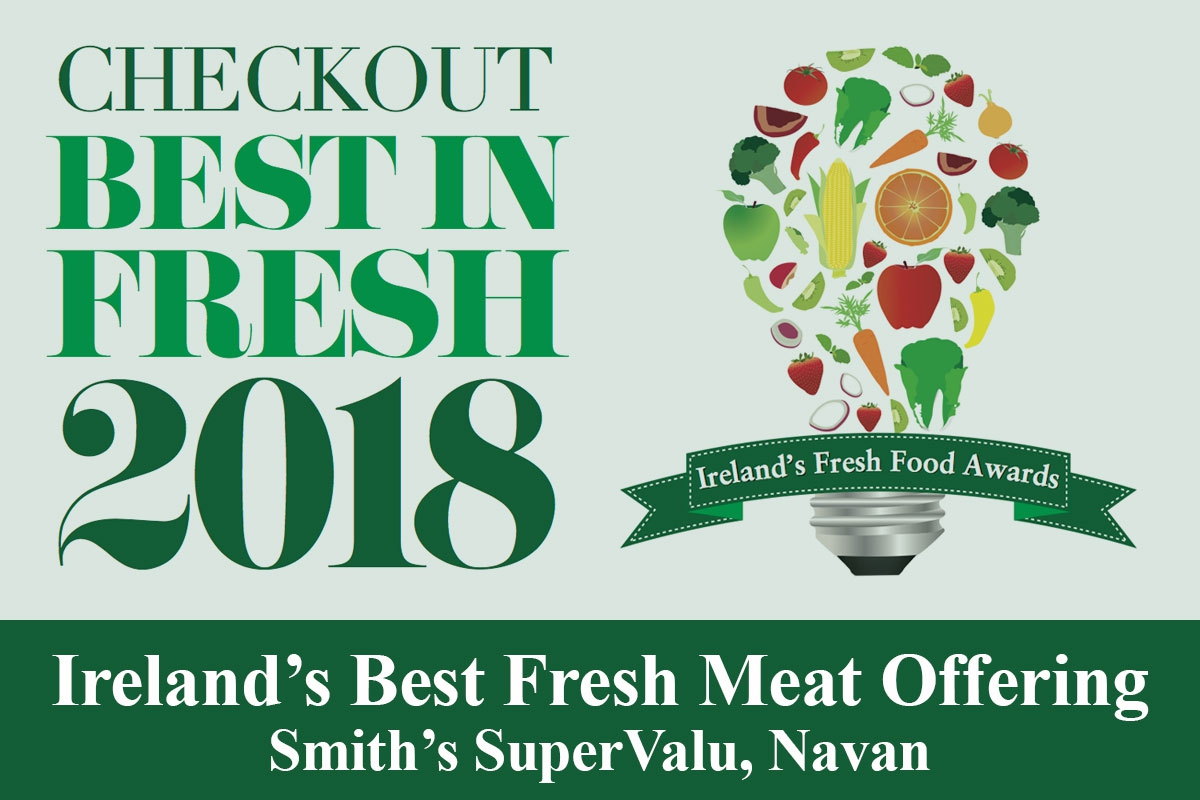 Smith's SuperValu Navan Wins Best Fresh Meat Offering